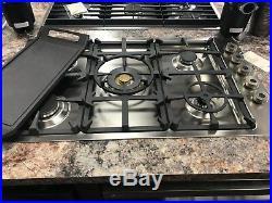 Qb36500x-bertazzoni 36 Gas Cooktop, 5 Burners, Display Model