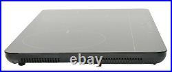 REFURBISHED K&H 2 Burner 24 Induction SLIM Cooktop ETL 110V 1800W IN-DD18-120S