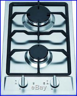 Natural Gas GC2-43N Ramblewood high efficiency 2 burner gas cooktop