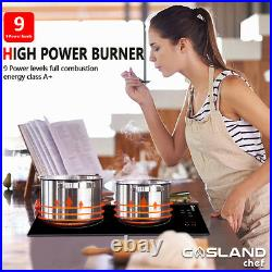 Refurbished Gasland Built-in Induction Cooktop, 12''Electric Stove With 2 Burners