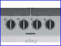 SIEMENS EC6A5PB90 Bulit-in 60cm Stainless steel Gas Kitchen Hob New