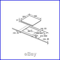 SIEMENS ED651FPB1E Bulit-in IQ500 Induction Kitchen Hob Black Ceramic Glass