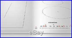SIEMENS ED652FSB1E Bulit-in 60cm Induction Kitchen Hob White Glass New