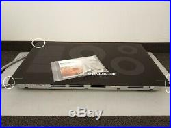 Samsung 36 Chef Collection Black Electric Induction Cooktop NZ36M9880UB