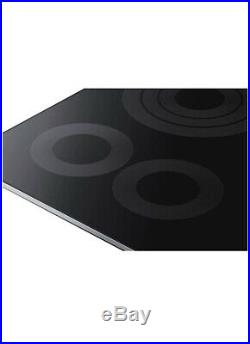 Samsung 36 Electric Stainless Steel Smoothtop Stovetop Cooktop NZ36K6430RS