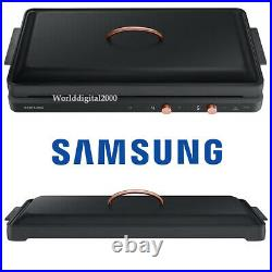 Samsung Induction The Plate Cooktop+Private Fan Kit -Black- NZ62T7703PK 220V