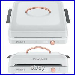 Samsung Induction The Plate Cooktop+Private Fan Kit -White-NZ31T3703PWB 220V
