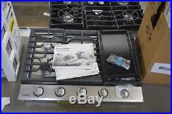 Samsung NA30K6550TS 30 Stainless 5-Burner Gas Cooktop NOB #33277 HRT