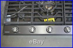Samsung NA36K7750TG 36 Black Stainless 5 Burner Gas Cooktop NOB #32256 MAD