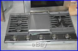 Samsung NA36K7750TG 36 Black Stainless 5 Burner Gas Cooktop NOB #32466 MAD