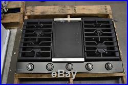 Samsung NA36N7755TG 36 Black Stainless 5 Burner Gas Cooktop NOB #49258 HRT