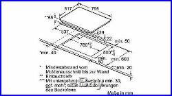 Siemens ED845FWB1E Kochfeld Induktion 80 cm TouchSlider Autark