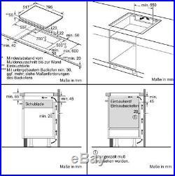 Siemens EH845BFB1E iQ300 Autarkes Induktions-Kochfeld, Glaskeramik, 80 cm breit