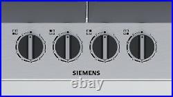 Siemens Gas Kochfeld Gas Hob Autark Edelstahl Kochfeld Gasfeld 60 NEU Einbau