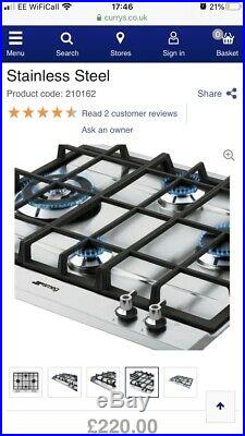 Smeg P360xgh Gas Hob New In Packaging