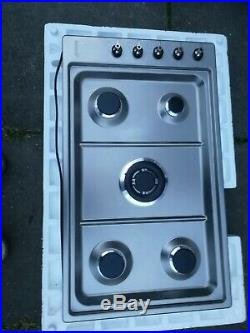 Smeg PGF95-4 Stainless Steel 90cm Gas Hob