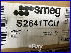 Smeg S2641TCU24 Inch Electric Smoothtop Cooktop