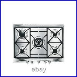Smeg SR275XGH2 Cucina 69cm Stainless Steel 5 Burner Gas Hob
