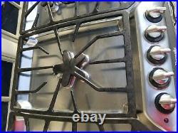 THERMADOR MODEL SGSX365CS 36 natural GAS cooktop