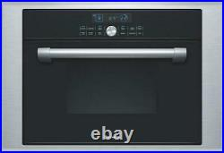 Thermador 24 1.4 cu. Ft Steam /Convection Wall Oven Black Single Oven MES301HP