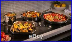 Thermador 36 Freedom Dark Gray Frame-less Induction Cooktop CIT36XKBB