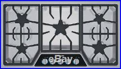 Thermador 36 SS Masterpiece Gas XLO Simmer Cooktop SGSX365FS