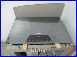 Thermador Masterpiece 30 4 Elements Induction Silver Mirrored Cooktop CIT304KM