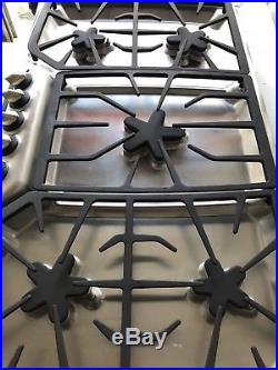 Thermador Masterpiece Series Stainless & Black 5 Star Burner 36 Gas Cooktop