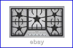 Thermador Natural Gas 37 Inch Cooktop with 5 Star Burners