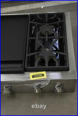 Thermador PCG486WD 48 Stainless Natural Gas Rangetop NOB #103586