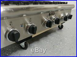 Thermador PSC366 6 Burner Rangetop