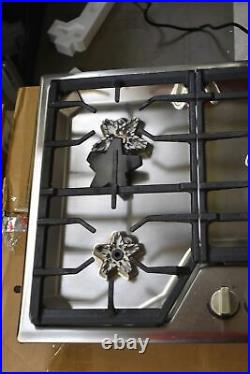 Thermador SGS365TS 36 Stainless Steel Built-In Natural Gas Cooktop NOB #109064