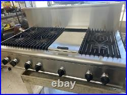 Thermador cooktop 48 Inch With Griddle NG