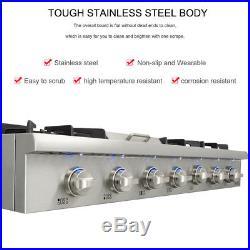 Thor Kitchen 48''Range Stove griddle stainless steel 6 burner range top HRT4806U