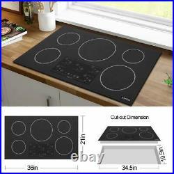 Thor Kitchen TEC3601I-C2 36W 5 Burner Induction Cooktop Black