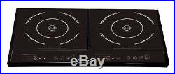 Used GForce Electric Double Induction Stove Burner Cooktop -RTL$299.99 854