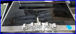 Used Viking 30 Electric 5 Burner Cooktop Ceramic Surface Stainless Steel