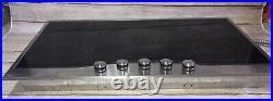VIKING DECU165-5BSB 36 ELECTRIC DROP IN COOKTOP Used Tested