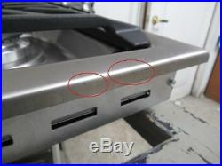 Viking 30 5 Sealed Burners Metal Die-Cast Knobs SS Gas Cooktop RVGC33015BSS