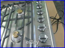Viking 36 Gas Cooktop vgsu5366bss Professional Pro 5 Series 36 gas Rangetop