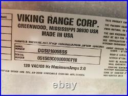 Viking 5 Burner Gas Cooktop