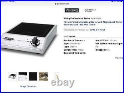 Viking Magne Quick Induction Counter Burner VICC120SS