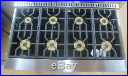 Viking Professional 7 Series VGR7488BSS 48 Inch Pro-Style Gas Range Natural Gas
