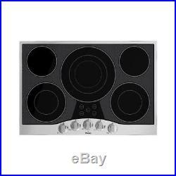 Viking RVEC3305BSB 30 Electric Cooktop 30 Electric Cooktop