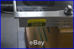 Viking RVEC3365BSB 36 Stainless Electric Cooktop 5 Burner NOB #25629 HL
