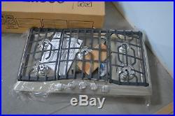 Viking RVGC33615BS 36 Stainless Natural Gas 5 Burner Cooktop NOB #25193 HL