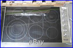 Viking VEC5366BSB 36 Stainless Smoothtop Electric Cooktop NOB #28685 HL
