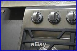 Viking VGSU5305BSSLP 30 Stainless 5 Burner Liquid Propane Cooktop NOB #32807