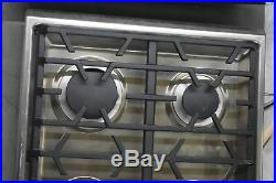Viking VGSU5366BSS 36 Stainless 6-Burner Gas Cooktop NOB #33445 CLW