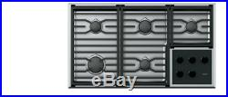 WOLF CG365TS 36 Transitional Gas Cooktop 5 Burners